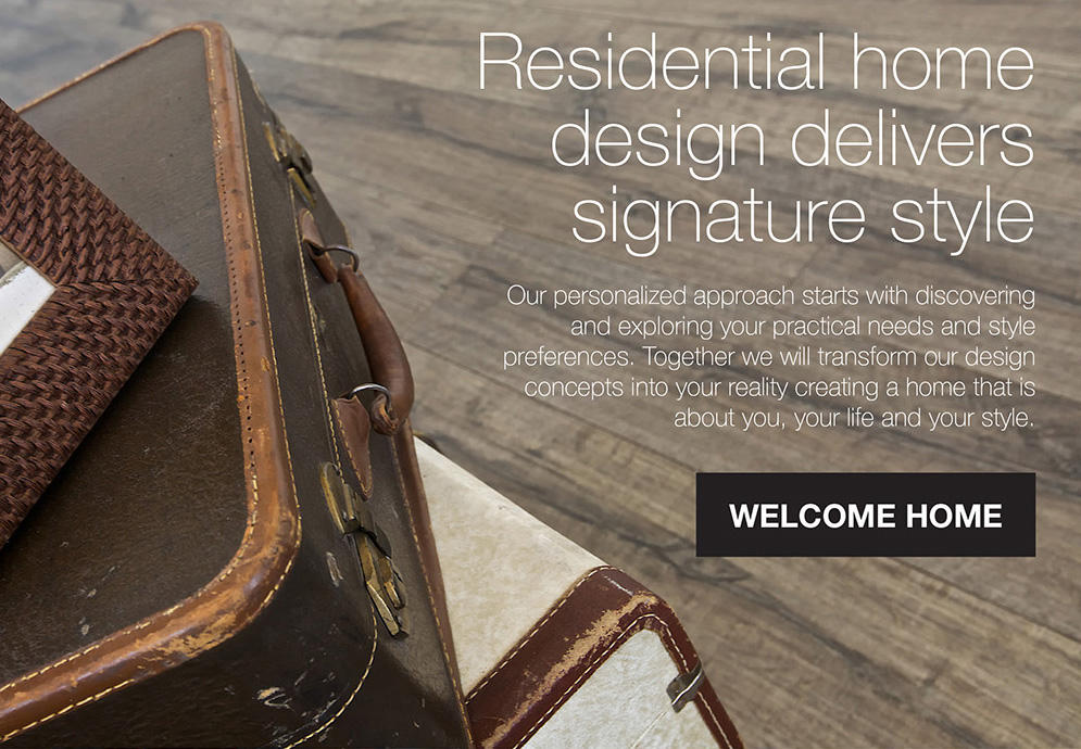 Residential home design delivers signature style
