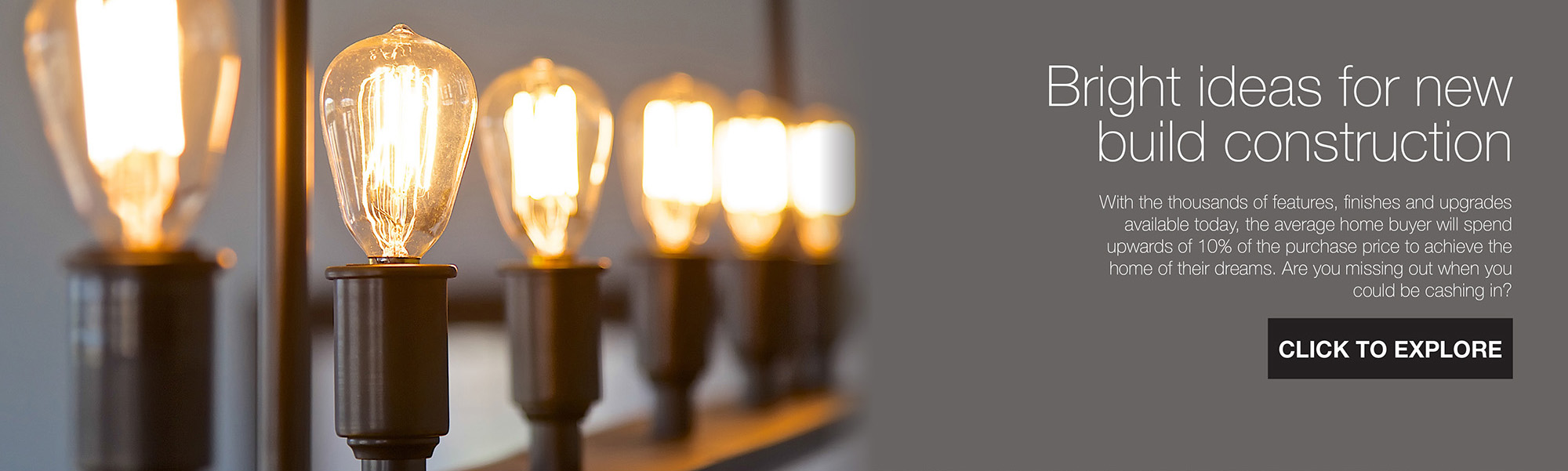 Bright ideas for new build construction
